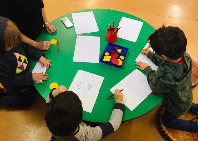 Huntsbury Preschool Christchurch drawing