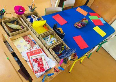 Huntsbury Preschool Christchurch kids play table